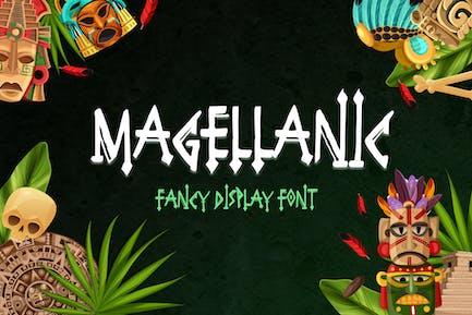 Magellanic Display Font