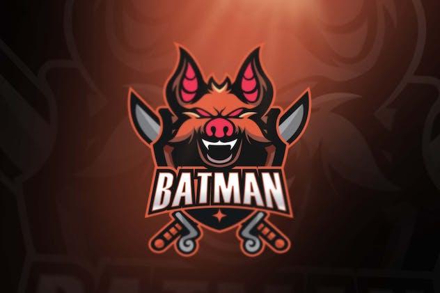 Batman Sport and Esports Logos