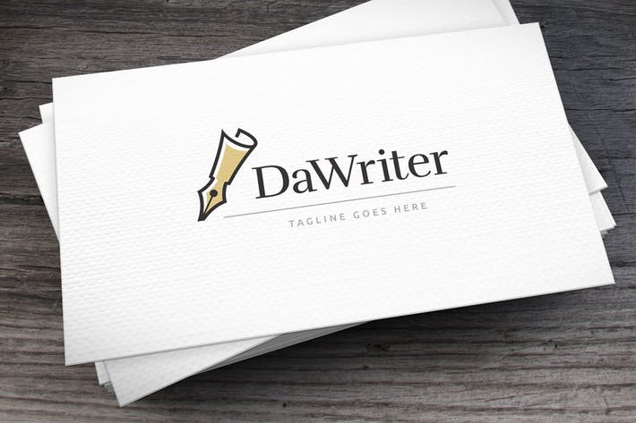 Thumbnail for Dawriter Logo Template