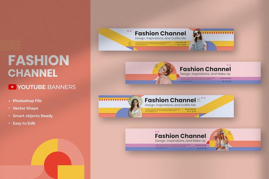 Fashion Youtube Banners