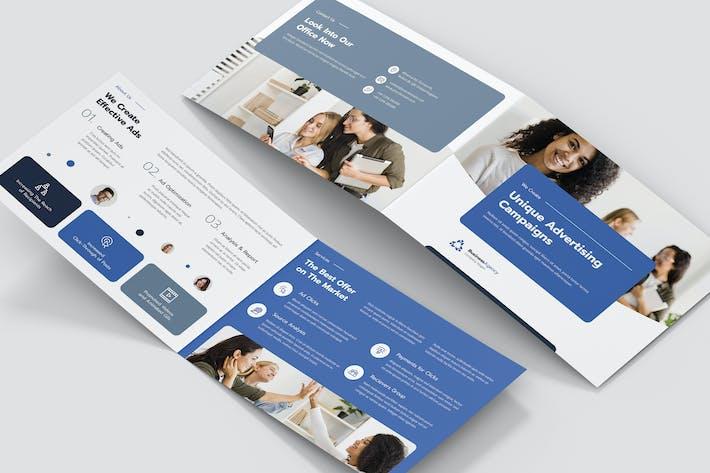 Thumbnail for Brochure – Business Agency Bi-Fold A5 Landscape