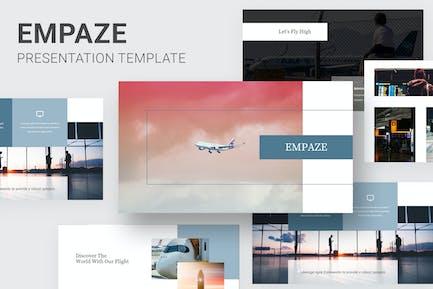 Empaze - Aviation & Airline Google Slides