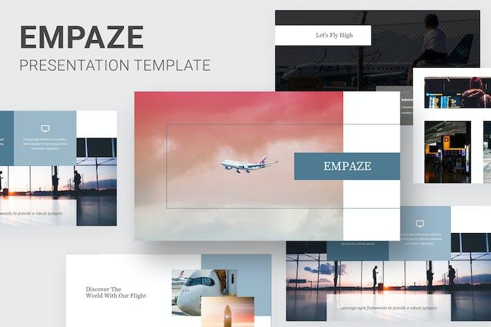 Thumbnail for Empaze - Aviation & Airline Google Slides