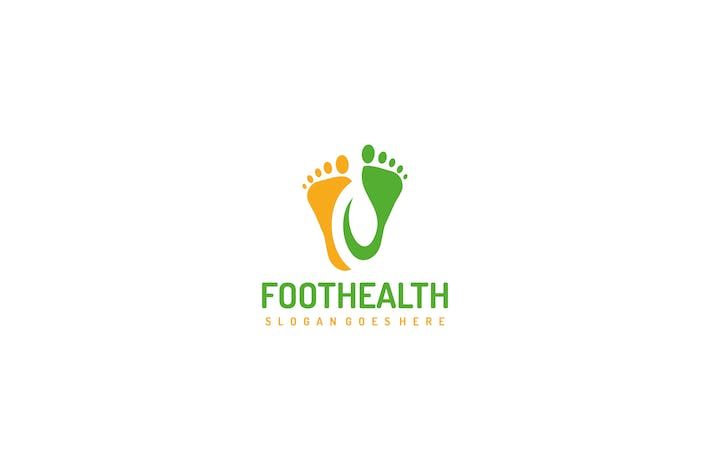 Thumbnail for Foot Health and Leaf Logo