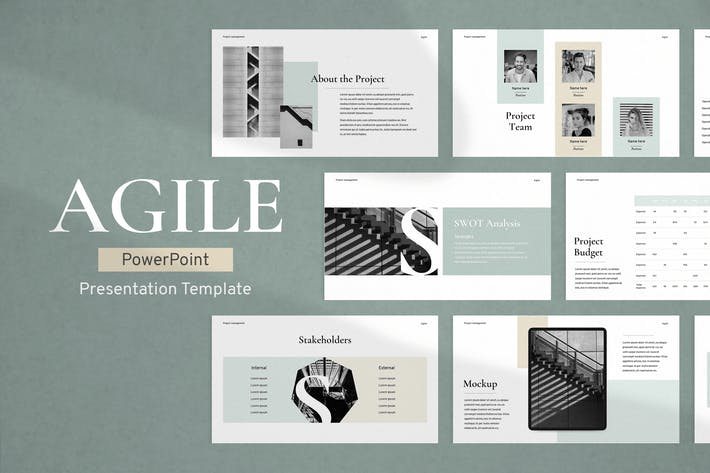 Thumbnail for Project Management PowerPoint Template