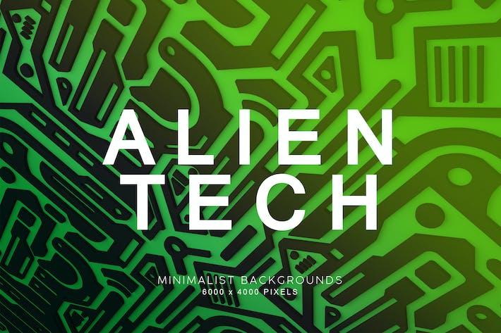 Alien Technologie-Hintergründe
