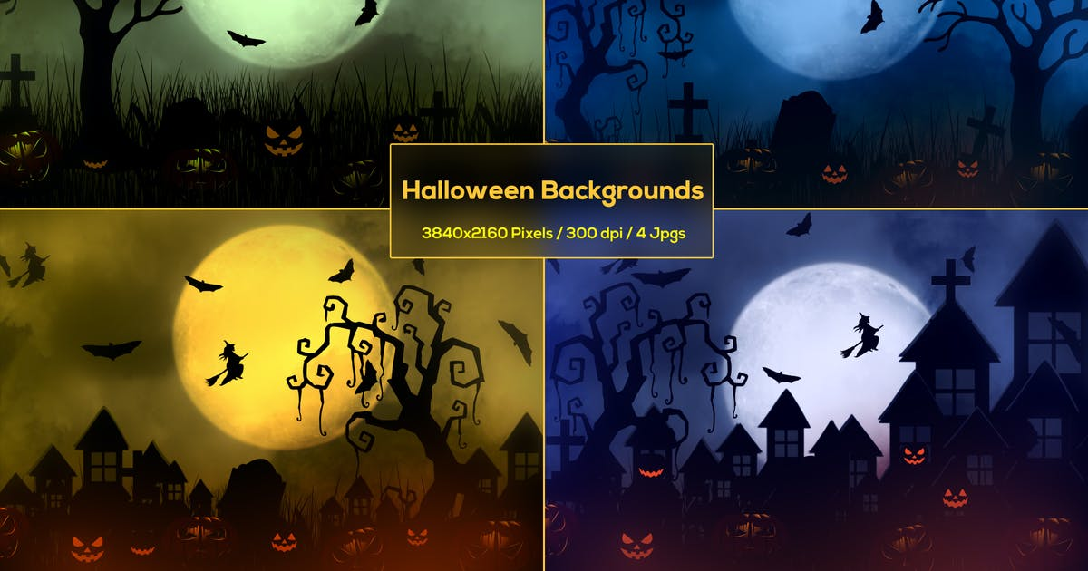 Download Halloween Haunted House Backgrounds by StrokeVorkz
