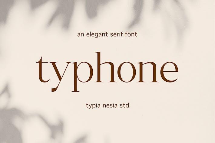 Typhone Elegant Serif
