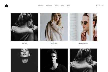 Bokeh - Photography Portfolio Theme