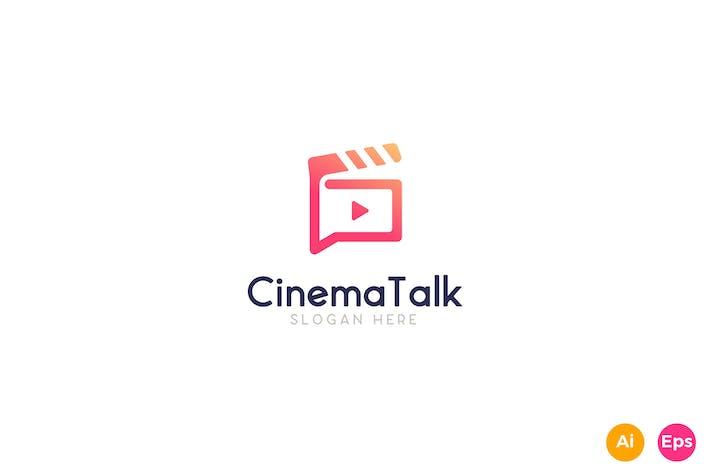 Thumbnail for Cinema Talk Show Logo Template
