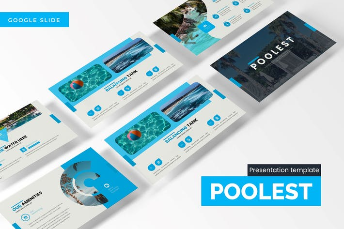 Cover Image For Poolest - Google Slides Template