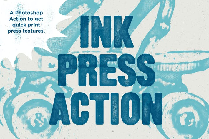 Cover Image For Ink Press Type Action