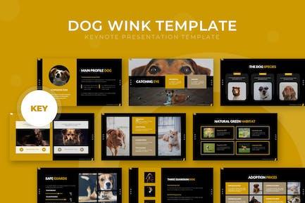 Dog Wink - Keynote Template