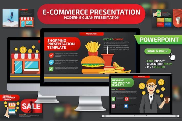 Thumbnail for E-Commerce Powerpoint Presentation