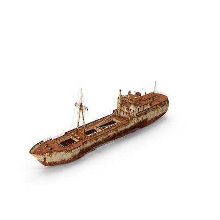 Rusty Schiffswrack
