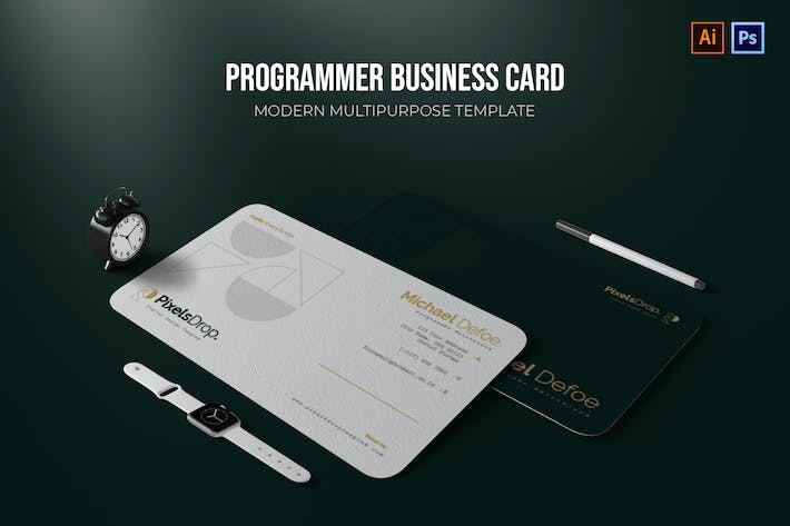 Thumbnail for Programmer - Business Card