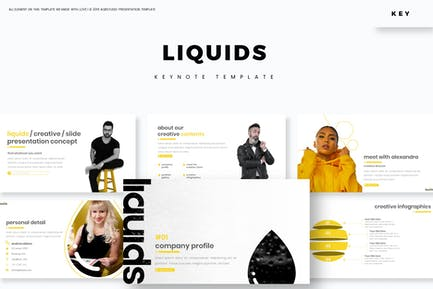 liquids - Keynote Template