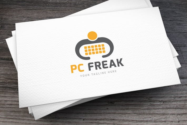 Thumbnail for PC Freak Logo Template