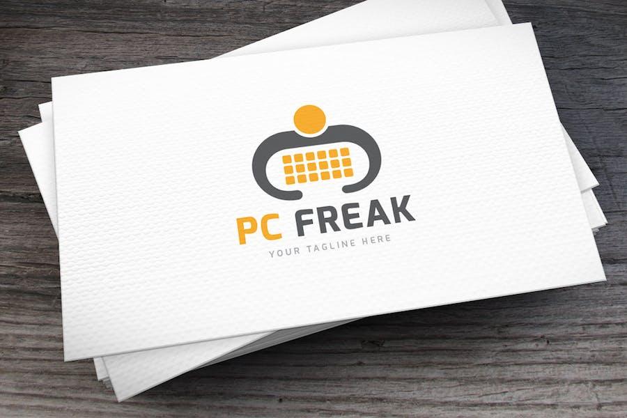 PC Freak Logo Template