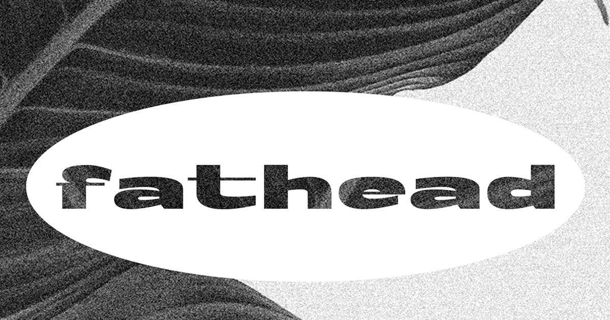 Download Fathead Display Font by Mihis_Design