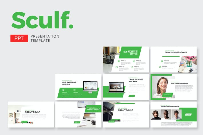 Thumbnail for Sculf Business - Powerpoint