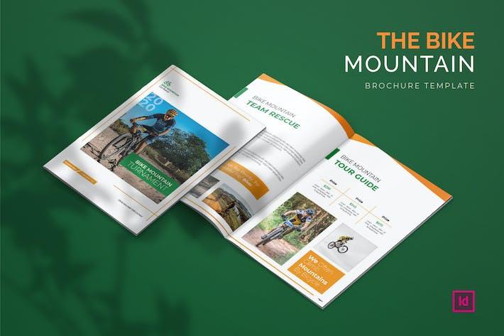 Thumbnail for Bike Mountain - Brochure Template