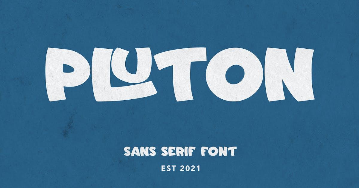 Download Pluton - Sans Serif Font by arendxstudio