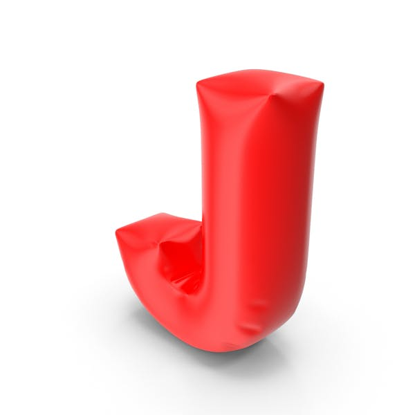 Буква шарик J