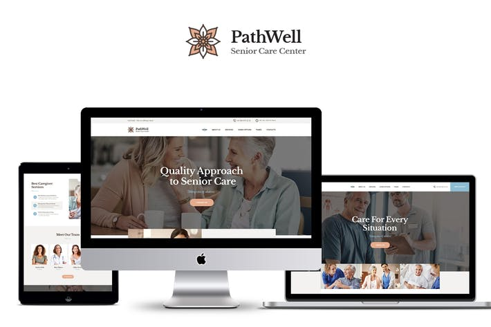 Thumbnail for PathWell - A Senior Care Hospital WordPress Theme