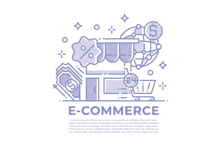 Thumbnail for E-commerce and Shopping Illustration
