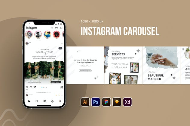 Wedding Instagram Carousel