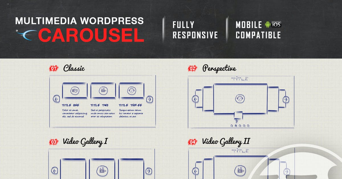 Download Multimedia Responsive Carousel - WordPress Plugin by LambertGroup