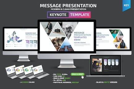 Message Keynote Template