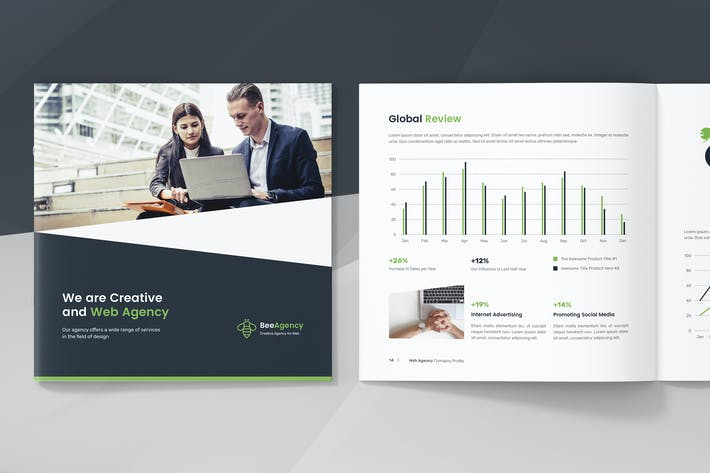 Thumbnail for Web Agency – Company Profile Square