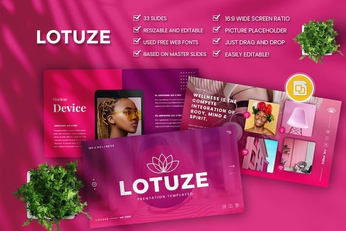 Lotuze — Творческий бизнес Google Слайд