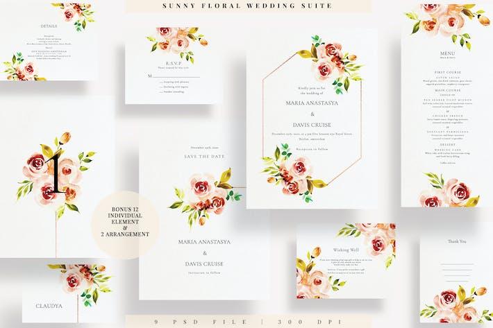Thumbnail for Sunny Floral Wedding Suite EZ
