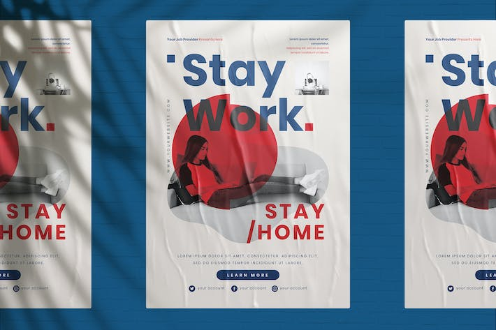 Work From Home Flyer