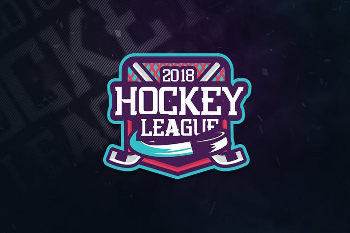 Thumbnail for Hockey League Sports Logo