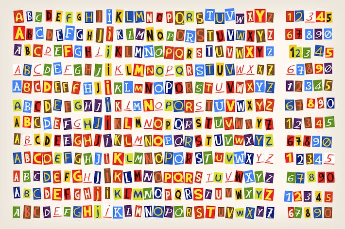 Cover Image For Paper cut alphabet