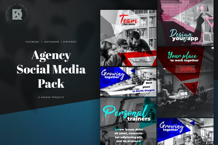 Thumbnail for Agency Marketing Social Media Kit