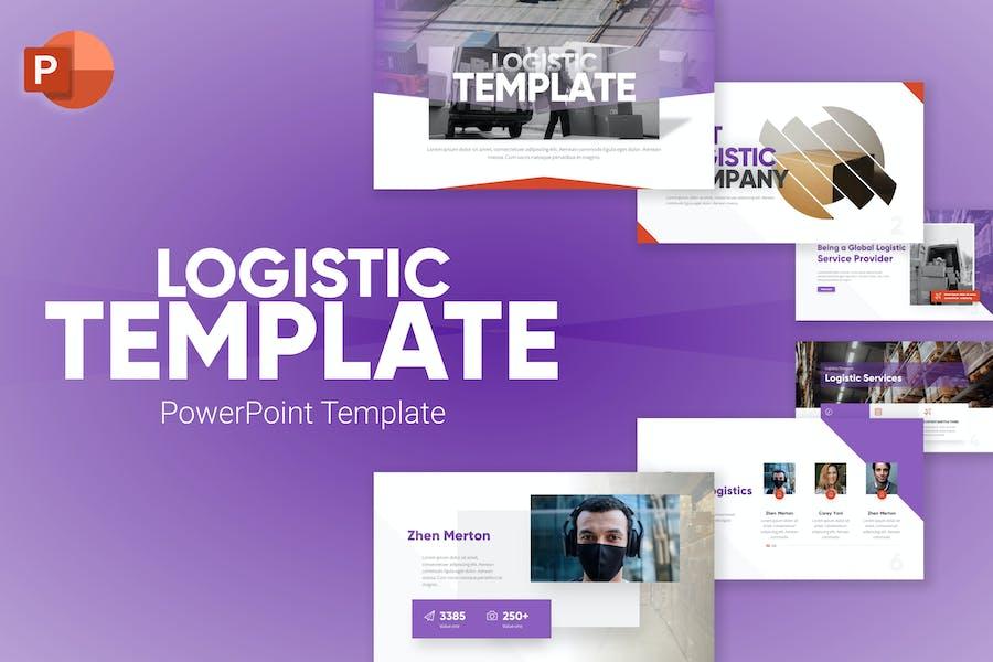 Logistic Modern PowerPoint Template