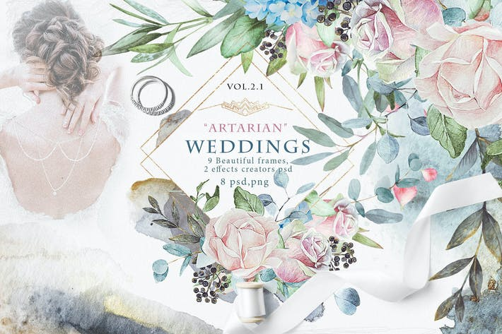 "Thumbnail for Wedding frames ""ARTARIAN"" vol.2.1"