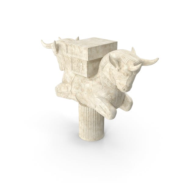 Persian Cow Statue