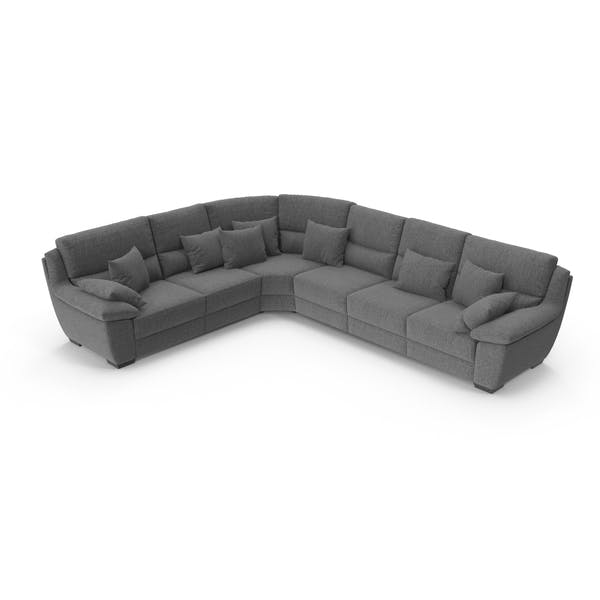 Grey Corner Sectional Sofa