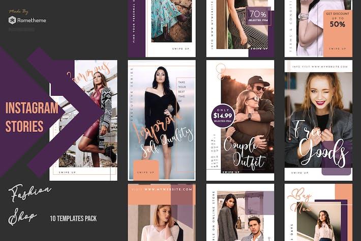 Thumbnail for Fashion Shop Instagram Stories vol. 02