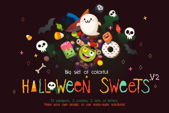 Cover Image For Loads of Sweets for Halloween. Pt 2