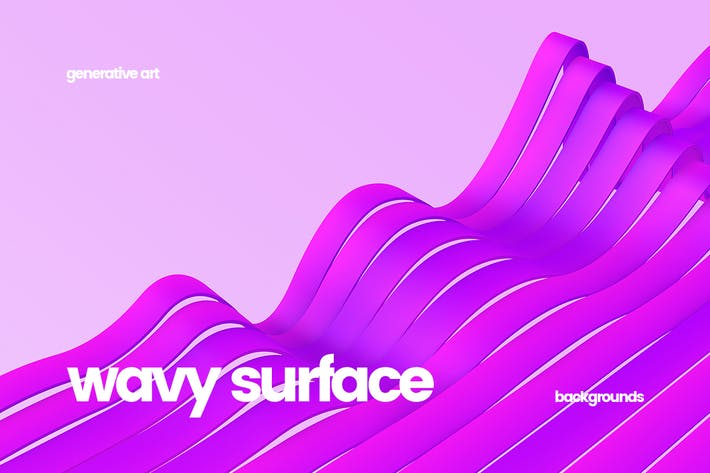 Thumbnail for Wavy Striped Surface Backgrounds