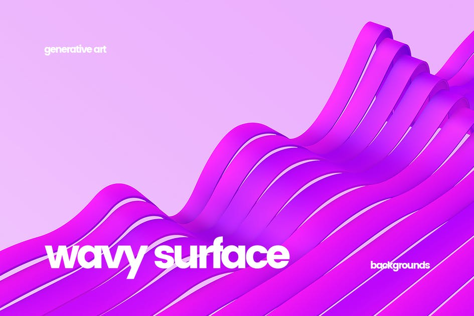 Download Wavy Striped Surface Backgrounds by themefire