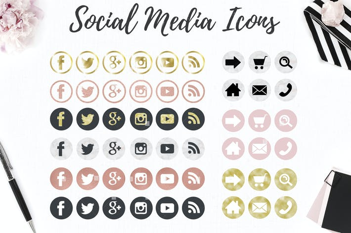 Thumbnail for Web and social icons