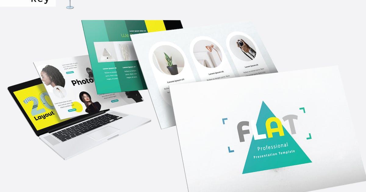 Download FLAT - Keynote V523 by Shafura
